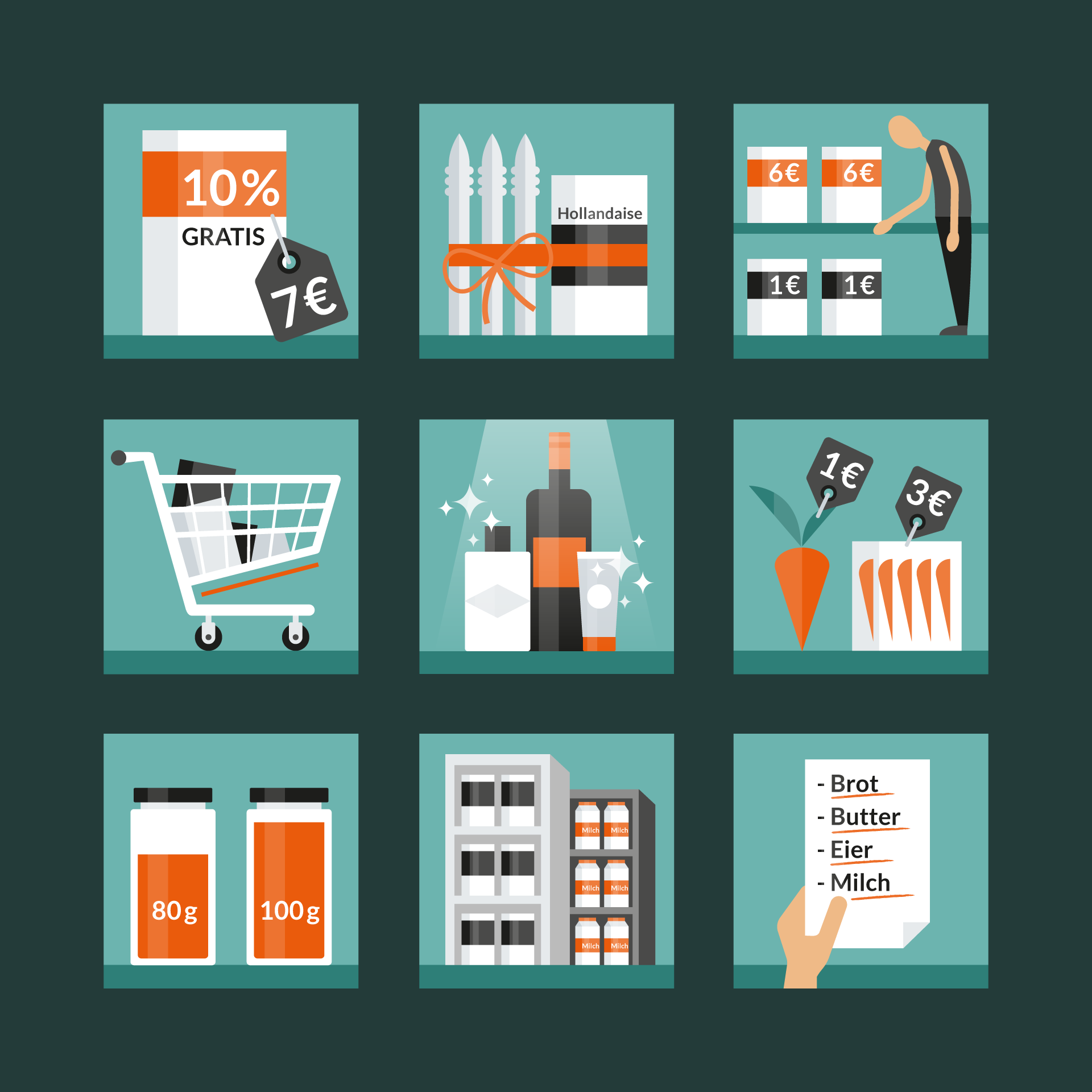 shopping-tricks-icons