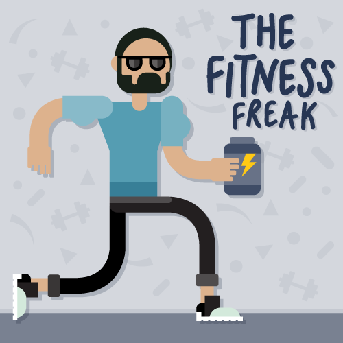 influencer-invasion-fitness-freak-character-design-illustration