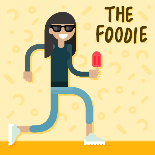 influencer-invasion-foodie-character-design-illustration