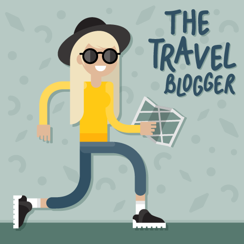 influencer-invasion-travel-blogger-character-design-illustration